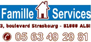 Adresse de Famille Service Albi Localisation Famille-Services